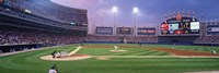 USA, Illinois, Chicago, White Sox, baseball Fine Art Print
