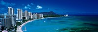 Waikiki Beach Honolulu Oahu HI USA Fine Art Print