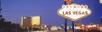 Las Vegas Sign, Las Vegas Nevada, USA Fine Art Print