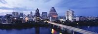 Night, Austin, Texas, USA Fine Art Print