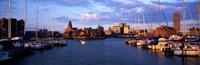 Buffalo, New York Waterfront Fine Art Print