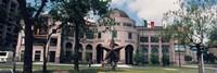 Facade of a building, Texas State History Museum, Austin, Texas, USA Fine Art Print
