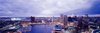 USA, Maryland, Baltimore, cityscape Fine Art Print