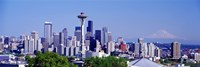 Seattle, Washington State Fine Art Print