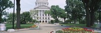 State Capital Building, Madison, Wisconsin, USA Fine Art Print