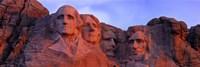 Mt Rushmore National Monument, Rapid City, South Dakota Framed Print