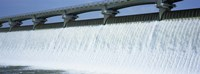 USA, Ohio, Columbus, Big Walnut Creek, Low angle view of a Dam Fine Art Print