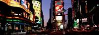 Times Square, New York City at night Fine Art Print