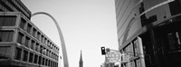 Low Angle View Of Buildings, St. Louis, Missouri, USA Fine Art Print
