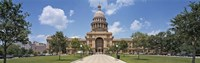 Facade of a government building, Texas State Capitol, Austin, Texas, USA Fine Art Print