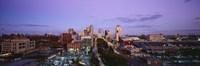 St. Louis, Missouri at Dusk Fine Art Print