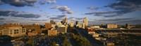 High Angle View of St. Louis, Missouri Fine Art Print