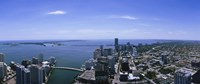 Aerial view of a city, Miami, Florida Fine Art Print