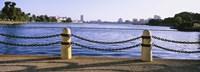 Lake In A City, Lake Merritt, Oakland, California, USA Framed Print