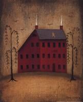 American Saltbox I Framed Print