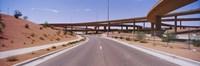Road passing through a landscape, Phoenix, Arizona, USA Fine Art Print