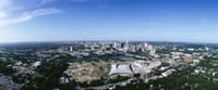 Aerial view of a city, Austin, Travis County, Texas Fine Art Print