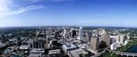 High angle view of a city, Austin, Texas, USA Fine Art Print