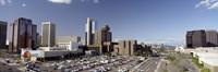 Skyscrapers in a city, Phoenix, Maricopa County, Arizona, USA Fine Art Print