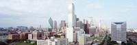 Dallas Skyline Fine Art Print