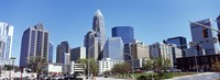 Charlotte Skyline, North Carolina Fine Art Print