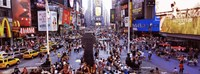 People in a city, Times Square, Manhattan, New York City, New York State, USA Fine Art Print
