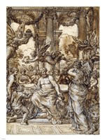 Cybele before the Council of the Gods Fine Art Print