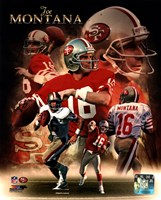 Joe Montana 2013 Portrait Plus Fine Art Print