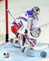 Henrik Lundqvist 2013-14 in Action Fine Art Print