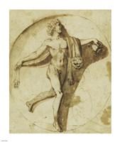 Votary of Bacchus Fine Art Print