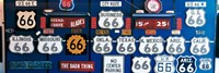 Route 66 Sign Collection Fine Art Print