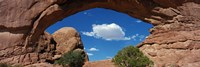 North Window, Arches National Park, Utah, USA Fine Art Print