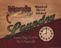 Mom's Laundry Fine Art Print
