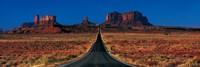 Route 163, Monument Valley Tribal Park, Arizona, USA Fine Art Print