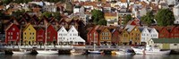 Harbor in Bergen, Norway Fine Art Print