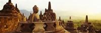 Indonesia, Java, Borobudur Temple Fine Art Print