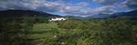 Hotel in the forest, Mount Washington Hotel, Bretton Woods, New Hampshire, USA Fine Art Print