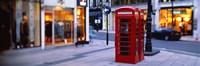 Phone Booth, London, England, United Kingdom Fine Art Print