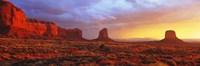 Sunrise, Monument Valley, Arizona, USA Framed Print