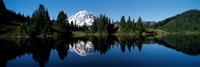 Eunice Lake Mt Rainier National Park WA USA Fine Art Print
