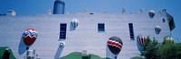 Building With Balloon Decorations, Louisville, Kentucky, USA Fine Art Print