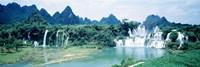 Detian Waterfall, Guangxi Province, China Fine Art Print
