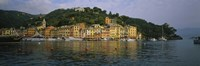 Town at the waterfront, Portofino, Italy Fine Art Print