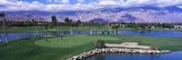 Golf Course, Palm Springs, California, USA Fine Art Print
