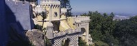 High section view of a building, Pena Palace, Palacio Nacional De Sintra, Portugal Fine Art Print