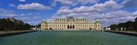 Facade of a palace, Belvedere Palace, Vienna, Austria Fine Art Print