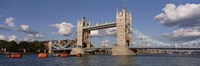Bridge Over A River, Tower Bridge, Thames River, London, England, United Kingdom Fine Art Print