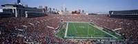 Football, Soldier Field, Chicago, Illinois, USA Fine Art Print