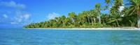 Tetiaroa Atoll French Polynesia Tahiti Framed Print