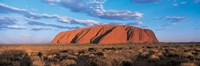 Sunset Ayers Rock Uluru-Kata Tjuta National Park Australia Framed Print